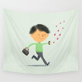Boy in Love #3 Wall Tapestry
