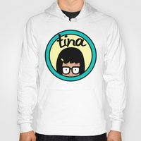 tina fey Hoodies featuring Tina by Page394