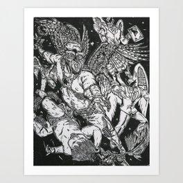 Cradle will Fall Art Print