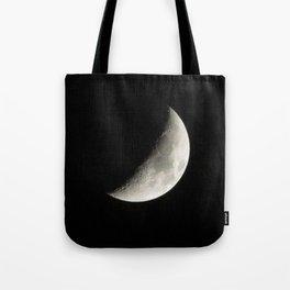Waxing Crescent Moon  Tote Bag