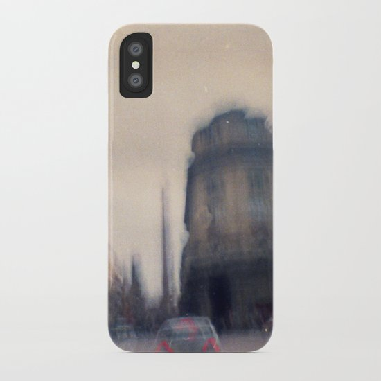 Don't think, just shoot. iPhone Case