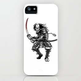 Zombie Samurai iPhone Case
