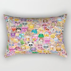 emoji / emoticons Rectangular Pillow