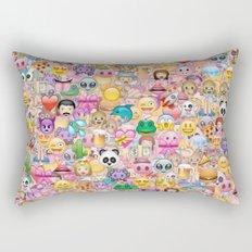 emoji / emoticons Rectangular Pillow