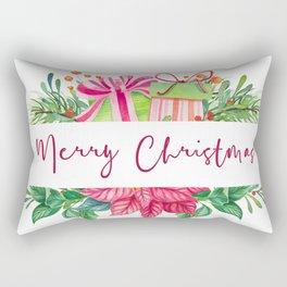 Merry Christmas Design Elements 1 Rectangular Pillow