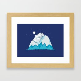 Cozy Mountain Framed Art Print