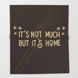 But Its Home Potter Gryf Throw Blanket