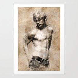 """""""Vintage"""" Art Print"""
