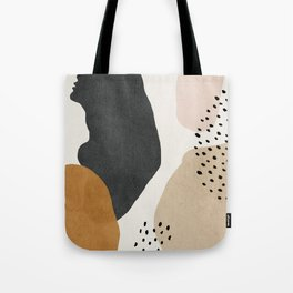 Woman silhouette art, Mid century modern art Tote Bag