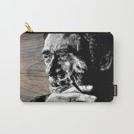 Hank on wood Carry-All Pouch