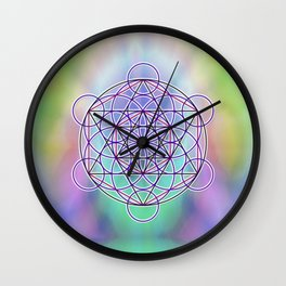 Merkaba Energy Wall Clock