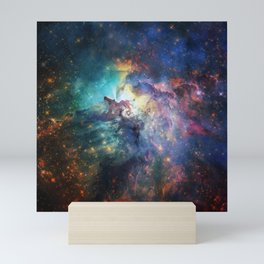 Lagoon Nebula / Second Version Mini Art Print