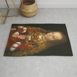"Lucas Cranach the Elder ""A Princess of Saxony"" Rug"