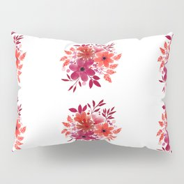 Red Roses Bouquet Pillow Sham