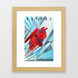 Flying Makes Me a Better Healthcare Companion Framed Art Print