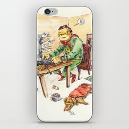 Hero and his Superdog iPhone Skin
