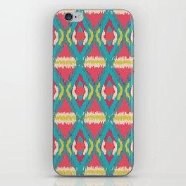 Ikat pattern iPhone Skin