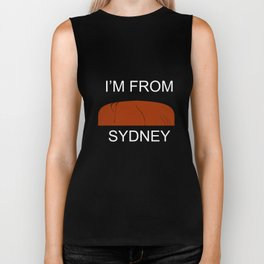 I'm from Sydney Biker Tank