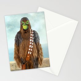 Chewbacca in The Son of A Man Stationery Cards