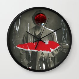 Wet Paint Wall Clock