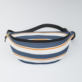 Sea Shanty (navy and gold) Fanny Pack