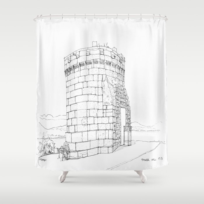 Tower Hill Shower Curtain