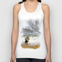 boat Tank Tops featuring Boat by Gouzelka