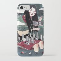 "vancouver iPhone & iPod Cases featuring ""Vancouver"" Illustration by Julia Iredale"
