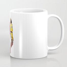 King LA Bron James Dunking Coffee Mug