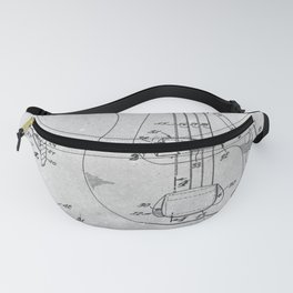 Electric Guitar - Electromagnetic pickup Fanny Pack