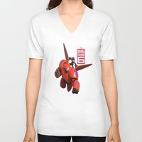 big hero 6 V-neck T-shirts featuring Big Hero 6  by store2u