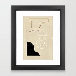 Branded Abstract 9 Framed Art Print
