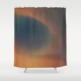 HE KNEW EVERYTHING Shower Curtain