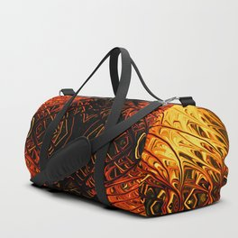 Pumpkin Pearl Sea Fan II by Chris Sparks Duffle Bag
