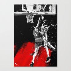 Pippen Over Ewing Canvas Print