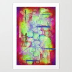 Forming Shapes Art Print