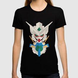 gundam exia flat design T-shirt