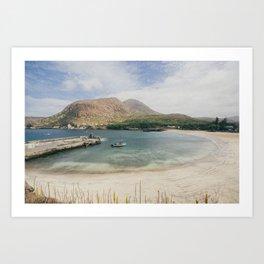 Tarrafal Beach Art Print