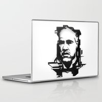 the godfather Laptop & iPad Skins featuring The GODFATHER by A. Dee