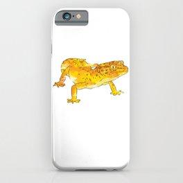 Yellow Gecko iPhone Case