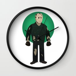 Jason Voorhees Friday the 13th Part 8 Wall Clock