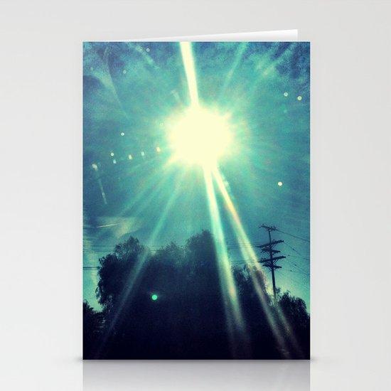 California sunshine. Stationery Cards