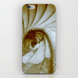 Sand stone spiral staircase 14 iPhone Skin