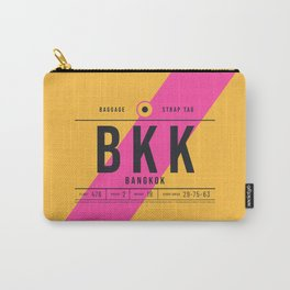 Luggage Tag E - BKK Bangkok Thailand Carry-All Pouch