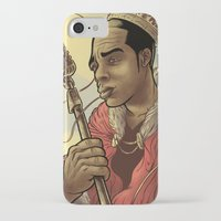 rap iPhone & iPod Cases featuring Proclaimed King of Rap by Logan  Faerber