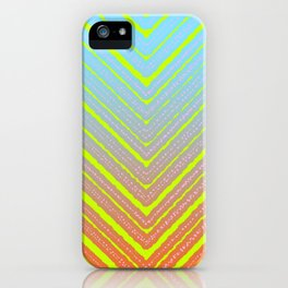 Outside Triangles iPhone Case