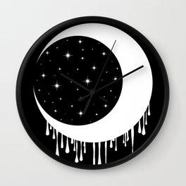 Invert Moon Wall Clock