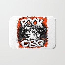 Rock tha Cig Box Guitar! Bath Mat