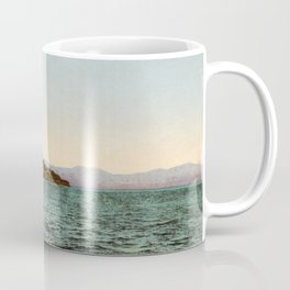 Alcatraz and the Golden Gate, San Francisco Bay, California, 1898- Coffee Mug