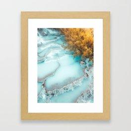 Tuscany Springs, Italy Framed Art Print